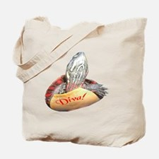 Turtle Diva Tote Bag