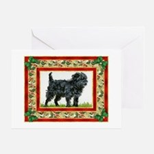 Affenpinscher Dog Christmas Greeting Card