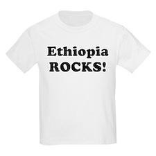 Ethiopia Rocks! Kids T-Shirt