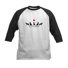 I love my German Shepherd Dog Baseball Jersey