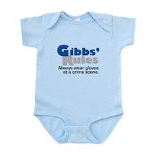 Gibbs Rules Wear Gloves Infant Bodysuit