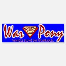 War Pony Bumper Bumper Bumper Sticker