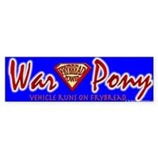 War Pony Bumper Bumper Sticker
