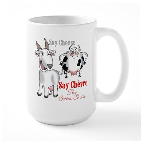 Goat- Say Cheese Large Mug