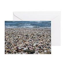 Tamarindo Beach Costa Rica Shells Greeting Card
