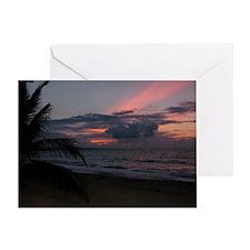 Punta Uva Beach Costa Rica Greeting Card