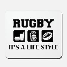 Food Beer Rugby Mousepad