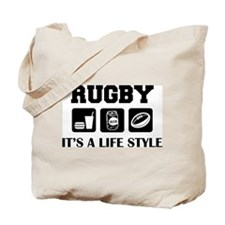 Food Beer Rugby Tote Bag