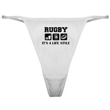 Food Beer Rugby Classic Thong