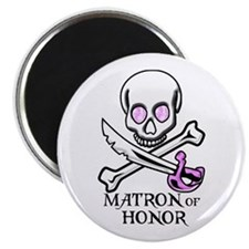 Pirate Matron of Honor Magnet