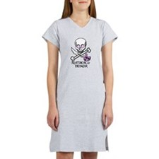 Pirate Matron of Honor Women's Nightshirt