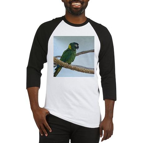 Yellow Collared Macaw Baseball Jersey