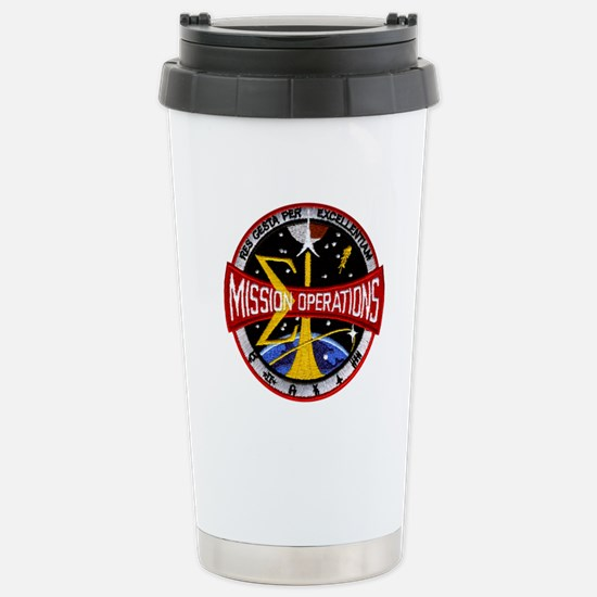 MSC: Mission Control Stainless Steel Travel Mug