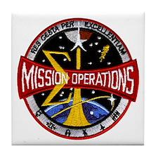 MSC: Mission Control Tile Coaster