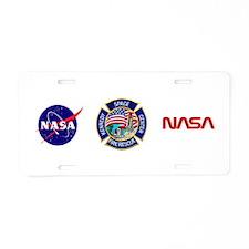 KSC Fire Rescue Aluminum License Plate