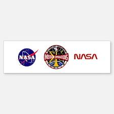 MSC: Mission Control Bumper Bumper Sticker