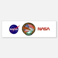 KSC Shuttle Operations Bumper Bumper Sticker
