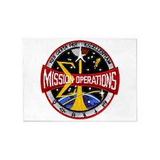 MSC: Mission Control 5'x7'Area Rug