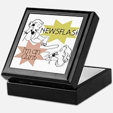 Newsflash I'm an Aunt Keepsake Box