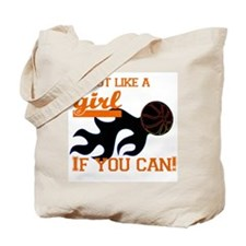 Shoot Like a Girl Tote Bag