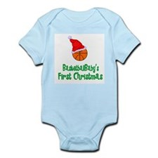BasketballBaby's First Christmas Infant Bodysuit