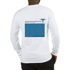 Caduceus-ShirtPocketsm.pct Long Sleeve T-Shirt