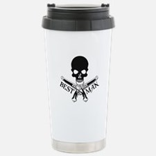 Pirate Best Man Stainless Steel Travel Mug