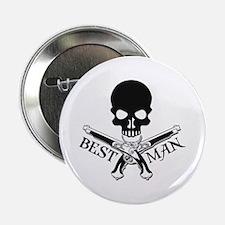 "Pirate Best Man 2.25"" Button"