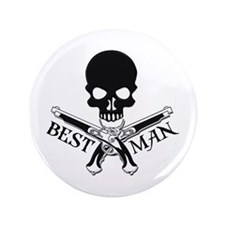 "Pirate Best Man 3.5"" Button"