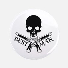 "Pirate Best Man 3.5"" Button"