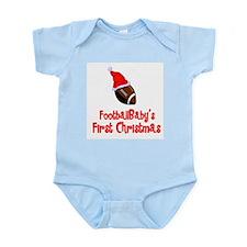 FootballBaby's First Christmas Infant Bodysuit