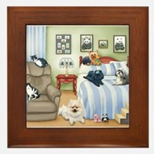 The Schofield's Bedroom Framed Tile