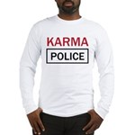 OK Computer Karma Police red and black Long Sleeve