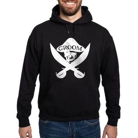 Pirate Groom Hoodie (dark)