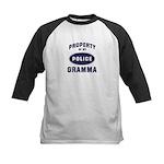 Police Property: GRAMMA Kids Baseball Jersey