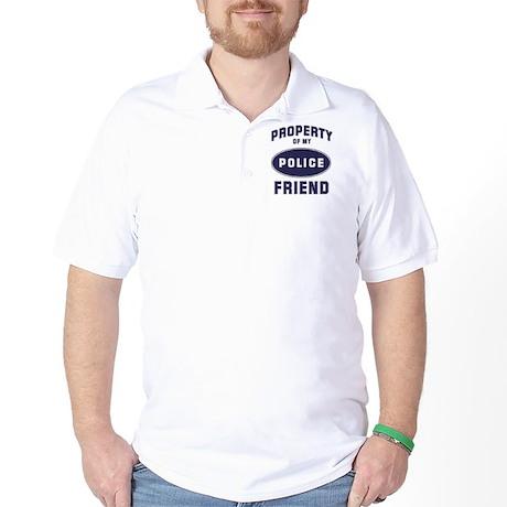 Police Property: FRIEND Golf Shirt