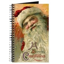 Vintage Christmas, Victorian Santa Journal
