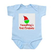 TennisBaby's First Christmas Infant Bodysuit