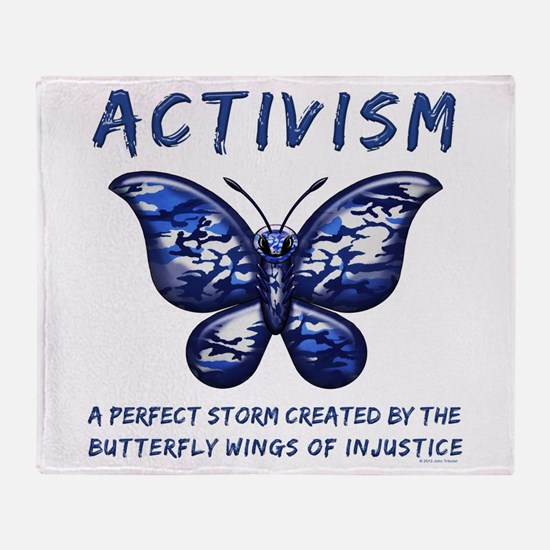 Activism Throw Blanket