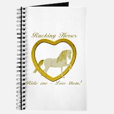 Racking Horse Ride Love Journal