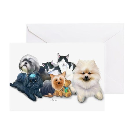 The Schofield's Bedroom Greeting Cards (Pk of 20)