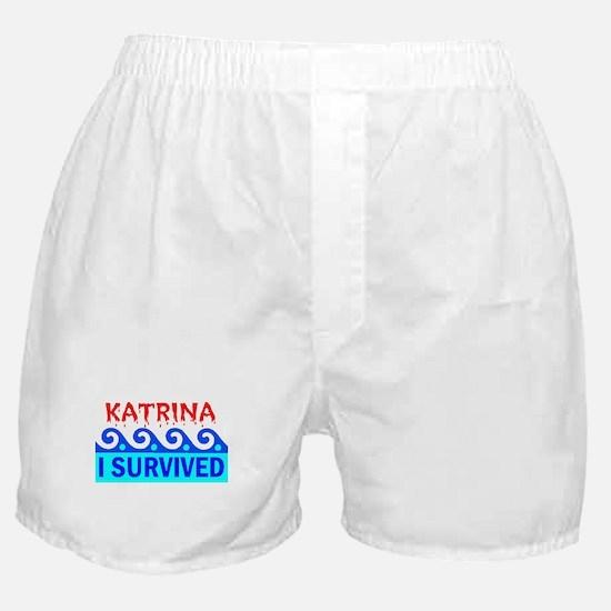 KATRINA SURVIVOR Boxer Shorts