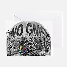 NO GMO - Children Greeting Card