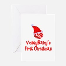 VolleyBaby's First Christmas Greeting Cards (Packa