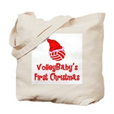 VolleyBaby's First Christmas Tote Bag