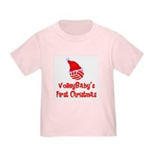 VolleyBaby's First Christmas T