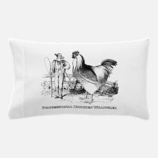 Chicken Wrangler Pillow Case
