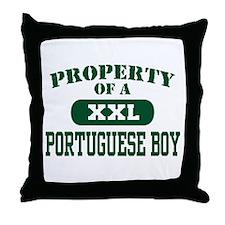 Property of a Portuguese Boy Throw Pillow