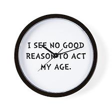 Act Age Wall Clock