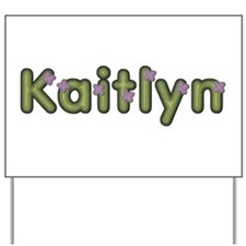 Kaitlyn Spring Green Yard Sign